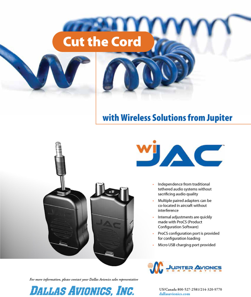 wiJAC wireless headset intercom adapter purchase as Dallas Avionics