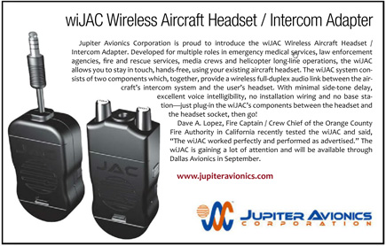 wiJAC wireless headset intercom adapter